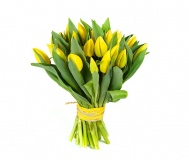 Tulips Bouquet -yellow