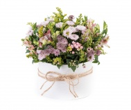 Flower box with meadow mix