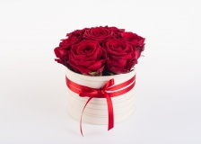 Flower box Red Rose