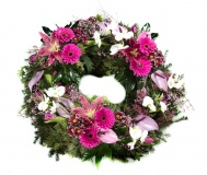 Funeral wreath Mix