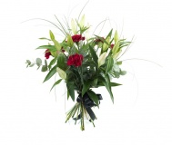 Funeral Lilies Carnations