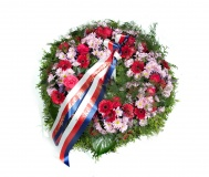 Funeral wreath Mini gerbera