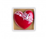Big Heart Chocolate Praline